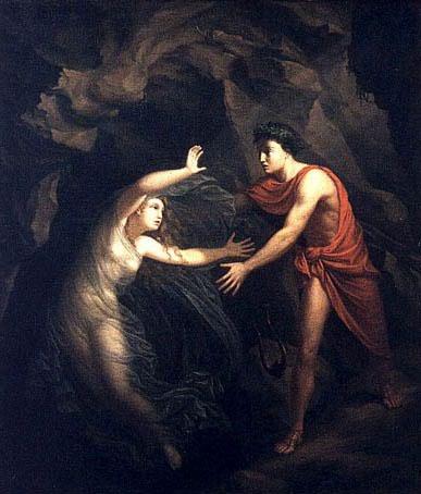 オルフェウス と エウリュディケ