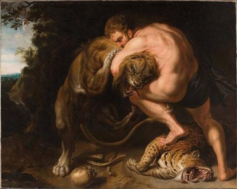 ヘラクレス(ネメアの獅子退治)