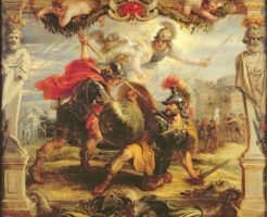 ヘクトルとアキレウス