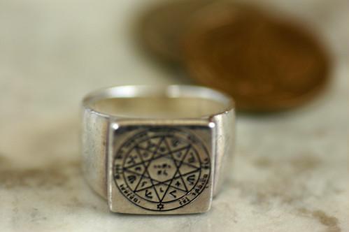 ソロモンの指輪