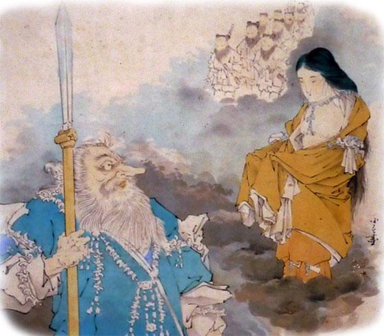 猿田毘古神と天宇受売命