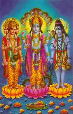 インド神話三神