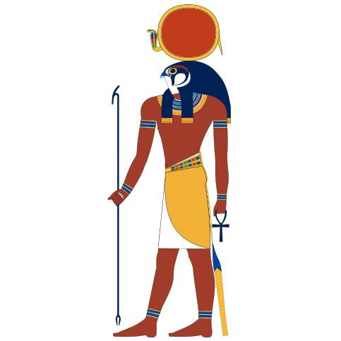 ラー|ファラオ含め数多くの人々に信仰された太陽神
