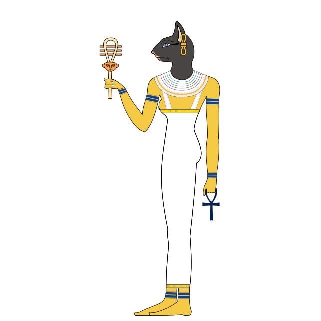 バステト|エジプト人に愛された猫の女神とラーの目